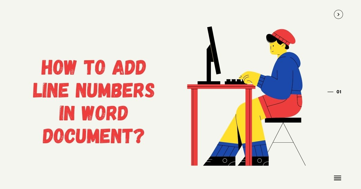 How to Add Line Numbers in Word Document - Fexti