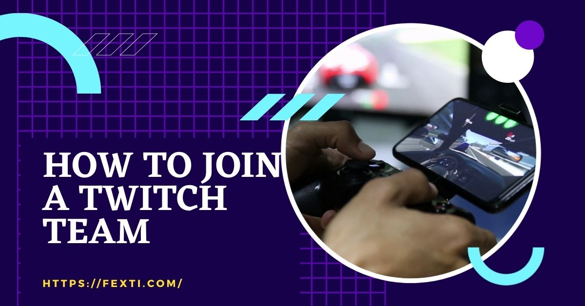 How to join a Twitch team