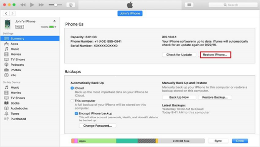 how to reset iphone 4 without apple id